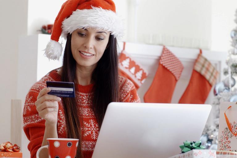 božićni online shoping