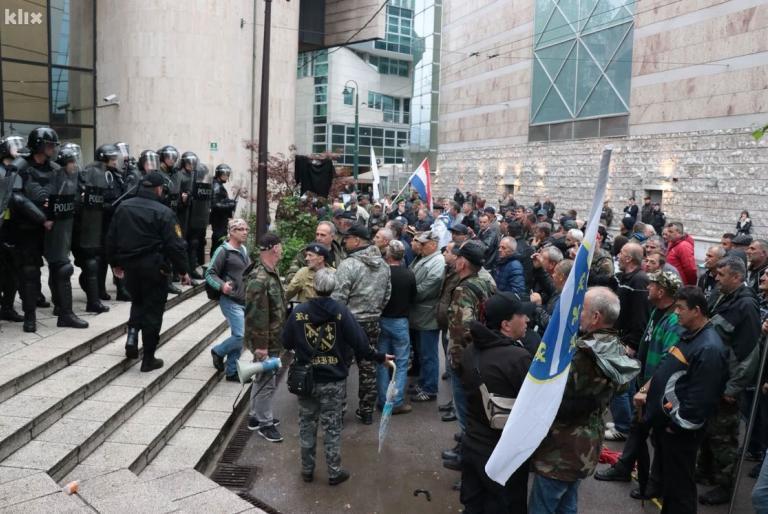 branitelji prosvjedi
