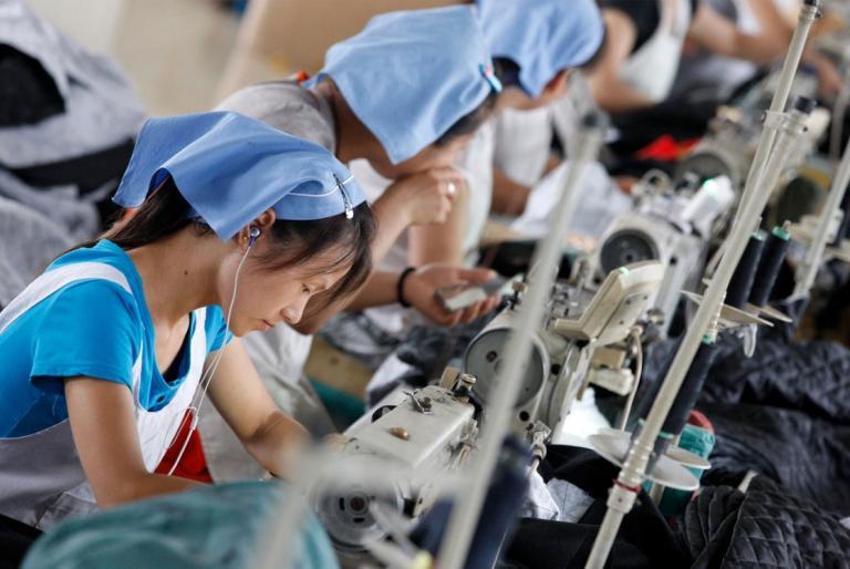 kineski radnici