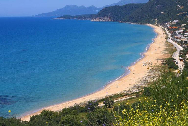 plaža more