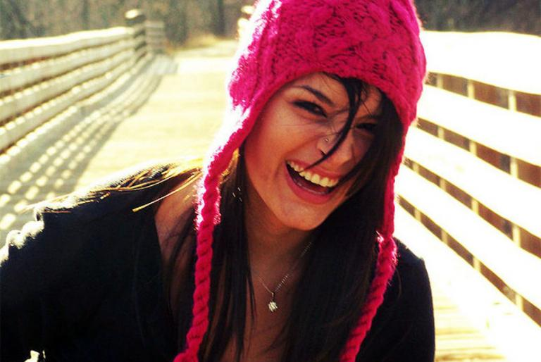 smjeh djevojka