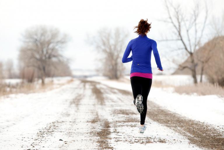 trčanje zimi
