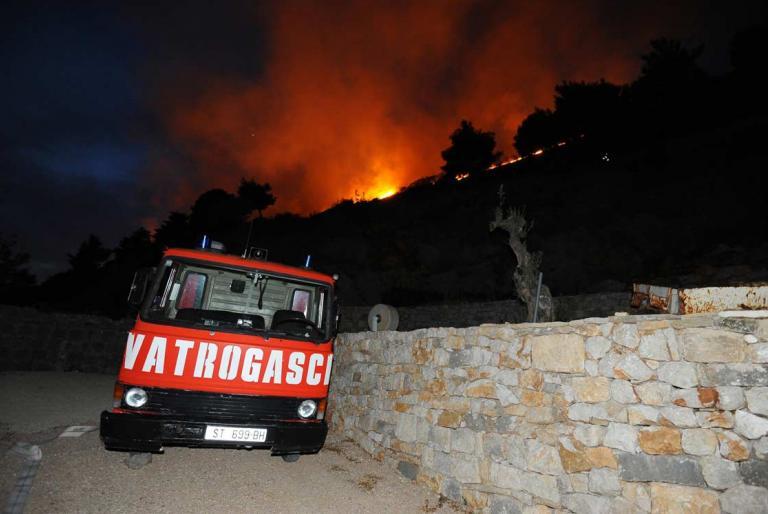 vatrogasci požar