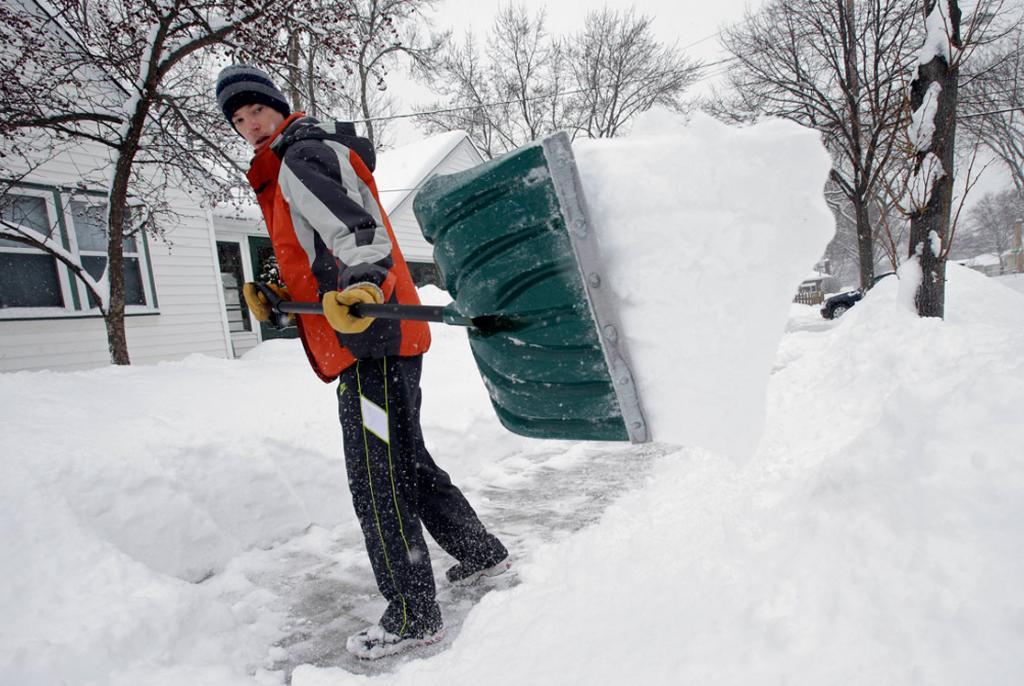 čišćenje snijega