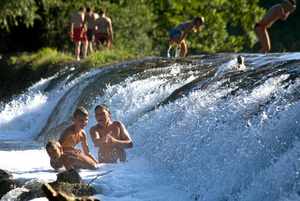 kupanje na rijeci