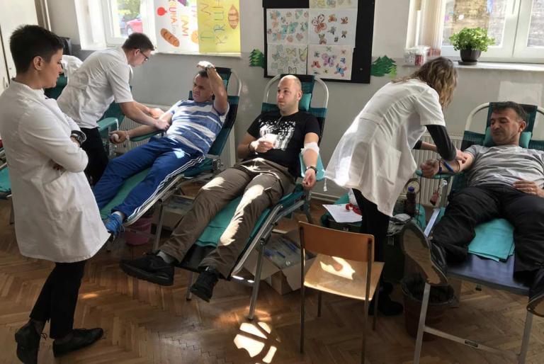 darivanje krvi u jarama