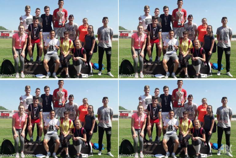 srednjoskolci atletika