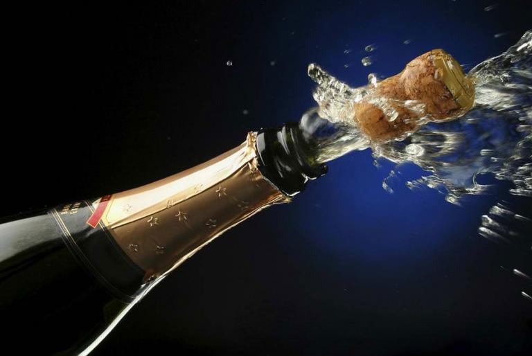 novogodišnji šampanjac