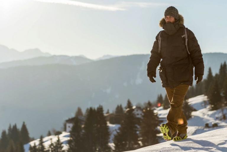 šetanje snijeg