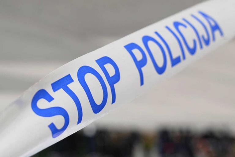 stop policija traka