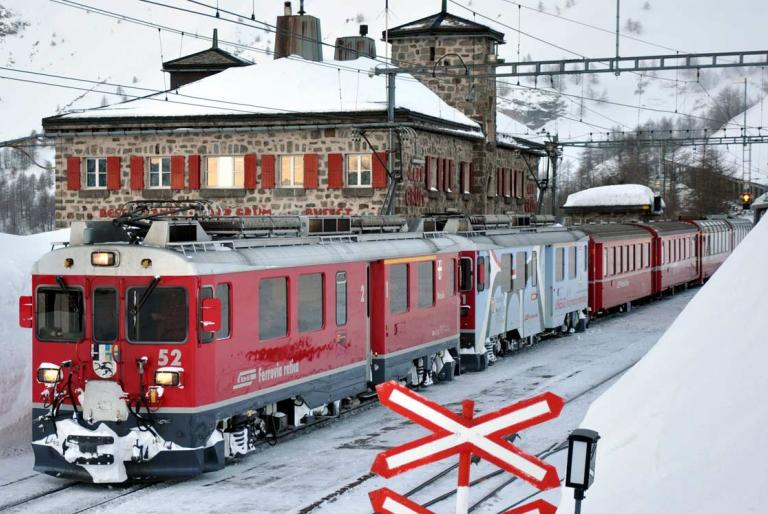 vlak alpe